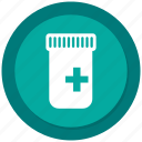 bottle, medication, medicine, pill icon