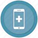 medical, mobile, online medical icon