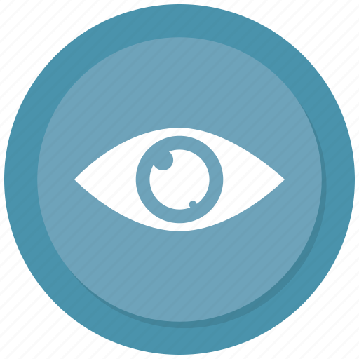 eye, show, visibility, vision icon