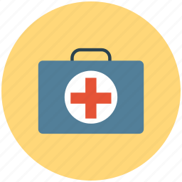 first aid, first aid bag, first aid kit, medicines bag icon