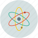 atomic, molecule, nuclear, particle icon