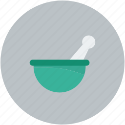 mixer, mortar and pestal, pharmacist, pharmacy tool icon