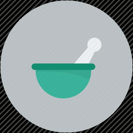 mixer, mortar and pestal, pharmacist, pharmacy tool icon