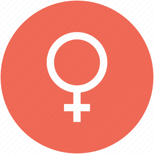 female, female sex sign, female sex symbol, gender icon