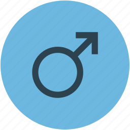 gender, male sex, male sign, male symbol icon