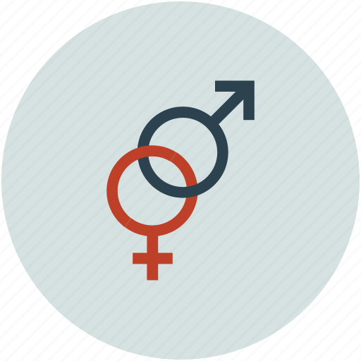 both sex, male and female, relationship, sex sign icon