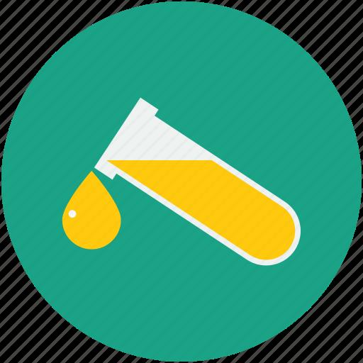 blood drop, blood test, laboratory, test tube icon