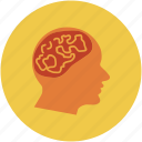 brain, human brain, human mind, mind icon