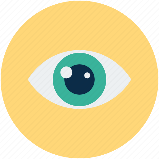 eye, human eye, view, watch icon