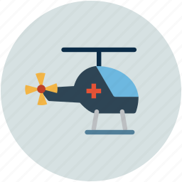 medical, medical flight, medical rescue, medical rescue helicopter icon