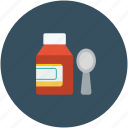 health, medicine, syrup, syrup bottle icon