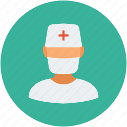 healthcare, male nurse, medical, medical assistant icon