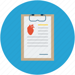 heart health, heart monitor report, medical, medical report icon