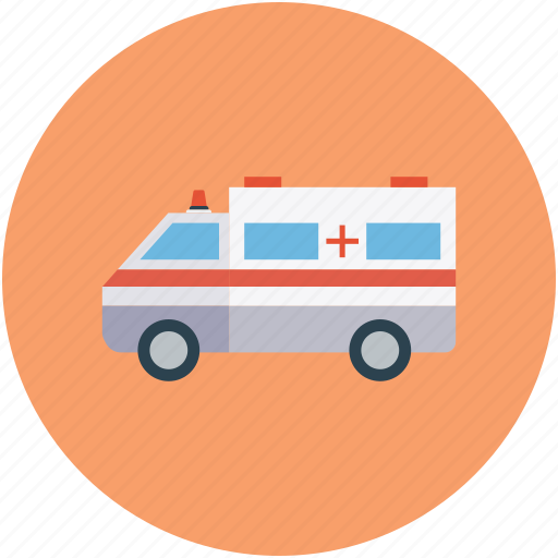 ambulance, emergency, emergency vehicle, medical transport icon