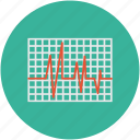heartbeat, lifeline, pulsation, pulse rate icon