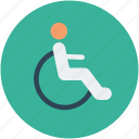 disabled, disabled parking, disabled parking sign, parking sign icon