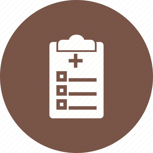chart, medical chart, medical history, notes, patient, record, report icon