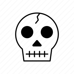 dead, death, end, life, medicine, skull icon