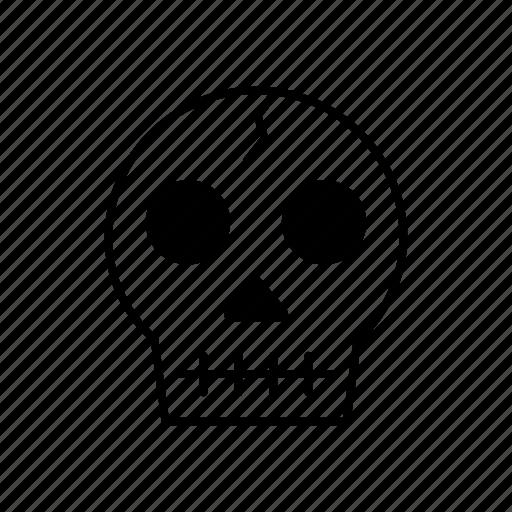 dead, death, end, life, medicine, skull icon