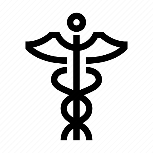 Caduceus, emergency, health, hospital, medical, medicine, pharmacy icon - Download on Iconfinder