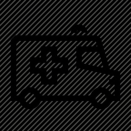 aid, ambulance, emergency, healthcare, hospital, medicine, vehicle icon