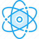 atom, atomic, health, medical, medicine, pharmacy icon