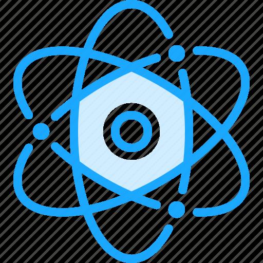 atom, atomic, health, medical, medicine, pharmacy icon