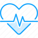 beat, health, heart, medical, medicine, pharmacy, pulse icon