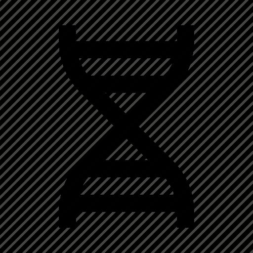biology, dna, genetics, helix, science icon