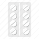 drug, medical, medicine, pack, pharmacy, pills, tablet icon