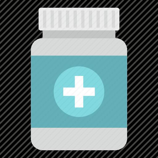 drug, jar, medical, medicine, plastic, tablet, tablets icon