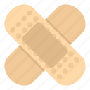 aid, bandage, heal, medical, medicine, plaster, protection icon