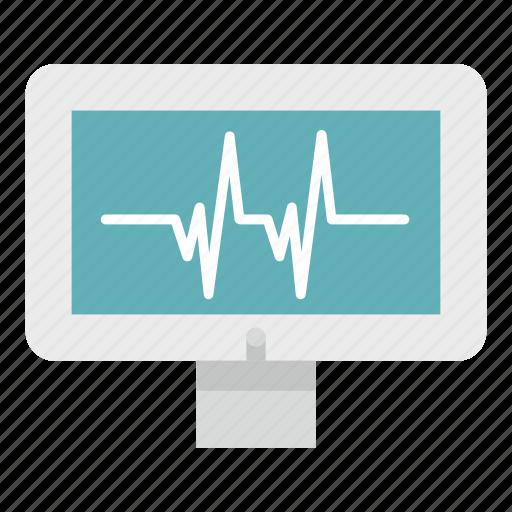 beat, cardiogram, health, heartbeat, medical, monitor, pulse icon