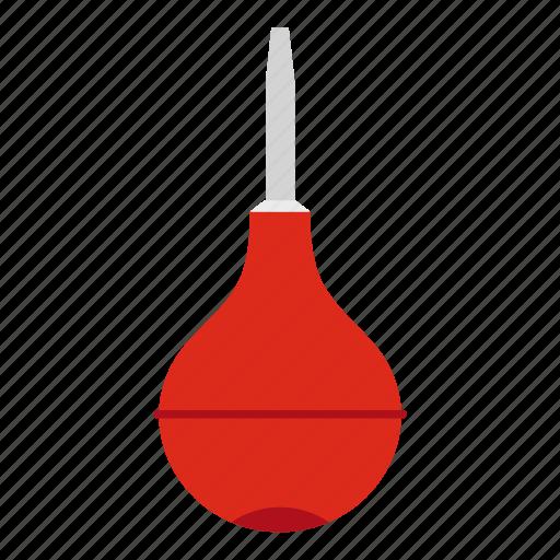 enema, health, medical, medicine, pear, rubber, syringe icon