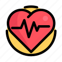 cardiogram, health, medical, medicine, pulse icon