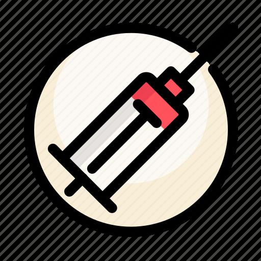 blood, drugs, health, injector, medical, medicine, syringe icon