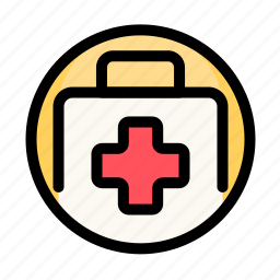 cross, health, kit, medical, medical kit, medicine icon