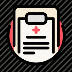 cross, health, medical, medicine, recipe, report icon