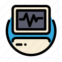 cardiogram, electrocardiogram, health, medical, medicine icon