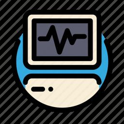 cardiogram, electrocardiogram, health, medical, medicine icon
