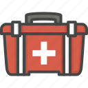 filled, kit, medical, medicine, outline, service icon