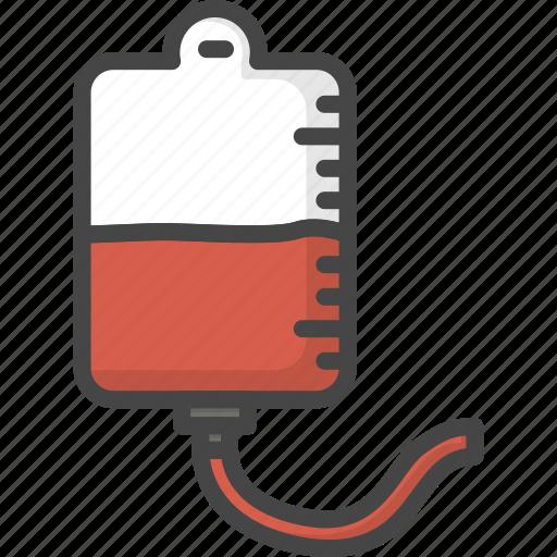 blood, drop, filled, medical, medicine, outline, service icon