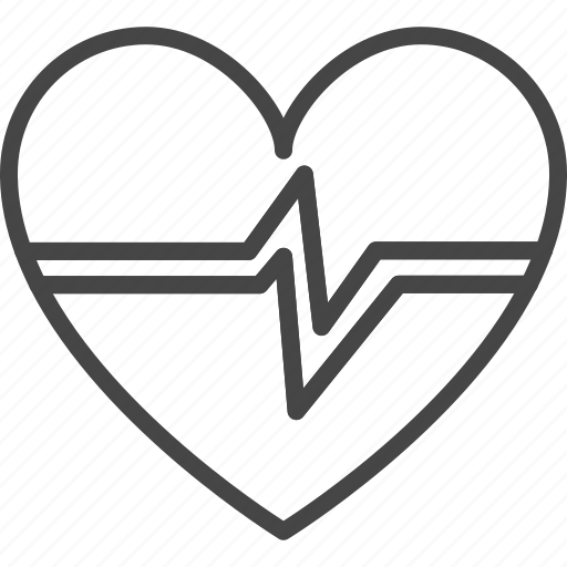 Beat, heart, line, medical, medicine, outline, service icon - Download on Iconfinder