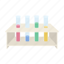 analysis, blood, drug, medicine, study, test tube, tripod icon