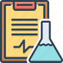 experiment results, feedback, laboratory, survery, test tube, testimonial