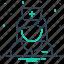 avatar, care taker, hospital, medical, nurse, sister, woman icon