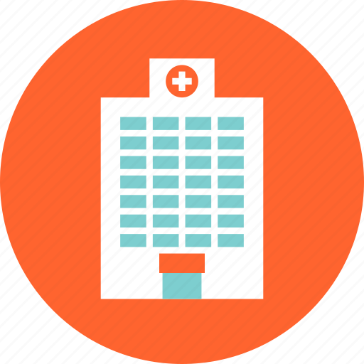 building, clinic, construction, emergency, hospital, medical, structure icon