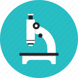analysis, biology, equipment, lab, microscope, research, science icon