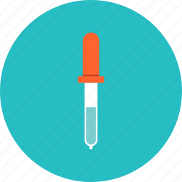 dropper, equipment, pipet, pipette icon