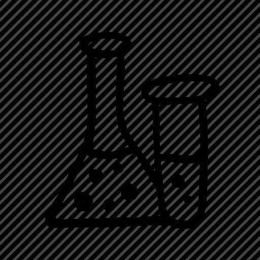 flask, liquid, medicine, pharmacy, test tube icon
